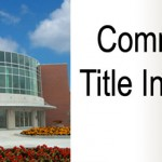 Commercial Title Insurance