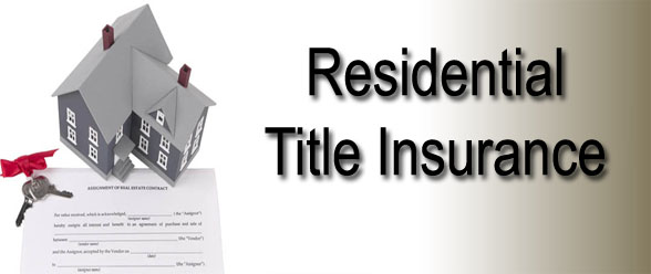 Residential Title Insurance